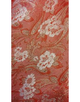 Tissu Brocart Fleur 004