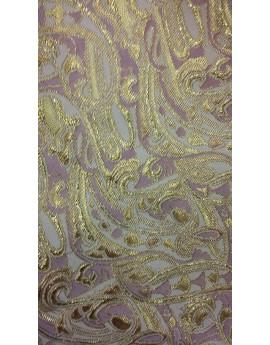 Tissu Brocart Fleur 005
