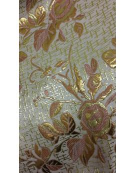 Tissu Brocart Fleur 006
