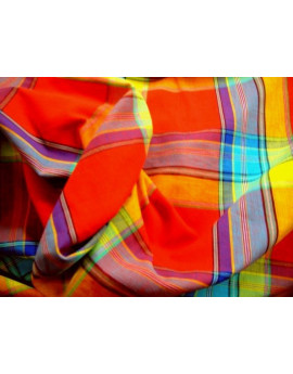 Tissu Madras A42