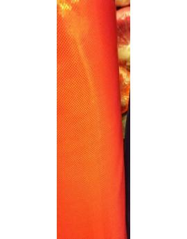 Tissu Lycra Pailleté Orange