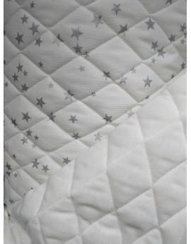 Tissu Matelassé étoiles 4