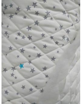Tissu Matelassé étoiles 3