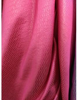 Tissu Brocart Rouge