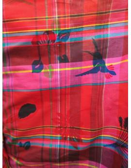 Tissu Madras Exotiques 22