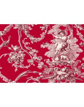 Ludivine Bordeaux Fond Rouge