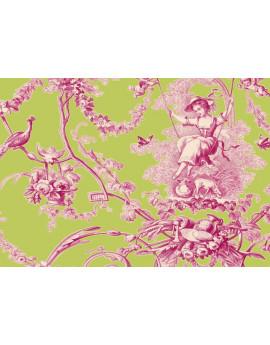 Ludivine Rose Fond Anis