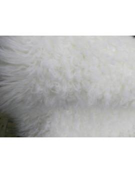 Fausse Fourrure Blanche Mouton