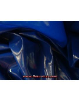 Tissu Vinyl Bleu Electrique