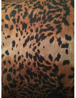 Jean Double Face Leopard