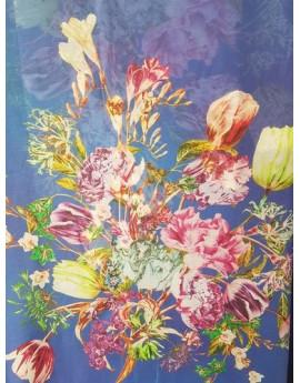 Tissu Grosse Fleur