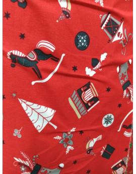 Tissu Noël N01