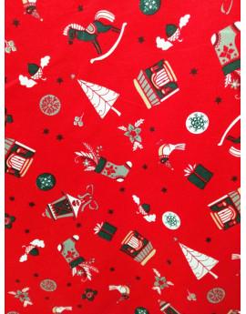 Tissu Noël N13