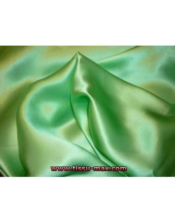 Satin de Soie Vert d'eau 23