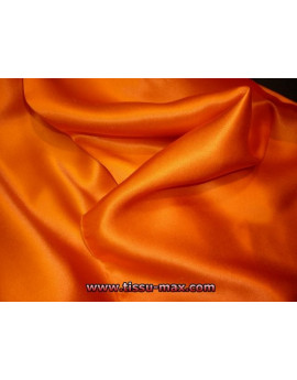 Satin de Soie Orange 28