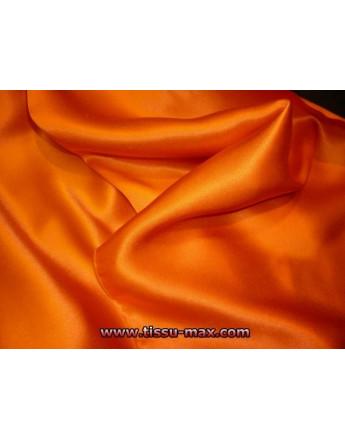 Satin de Soie Orange 28