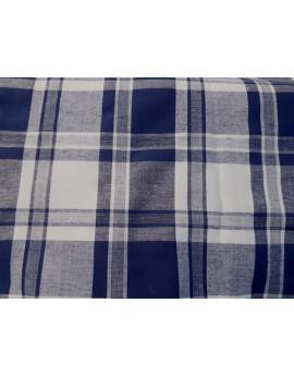 Tissu Madras Bleu Nuit