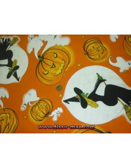 Tissu Halloween A000