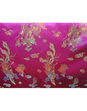Tissu Chinois Fuchsia
