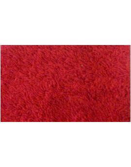 Tissu Eponge Rouge