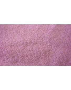 Tissu Eponge Rose