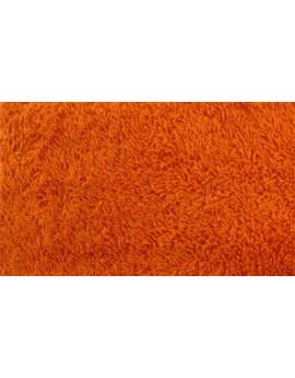 Tissu Eponge Orange