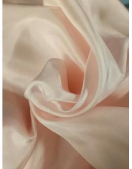 Pongé de soie rose