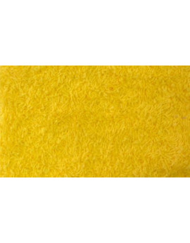 Tissu Eponge Jaune