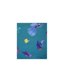 Glowing fish - Fond lagon