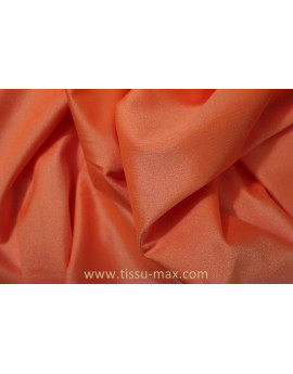 Tissu Lycra Orange Foncé