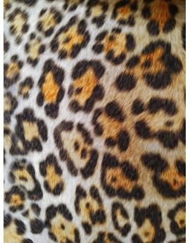 Tissu imprimé léopard 02