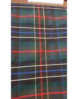Tissu écossais vert