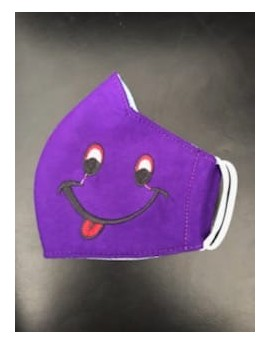 MASQUE SMILEY VIOLET
