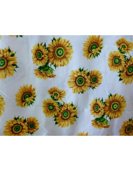 Tissu Fleurs Tournesols A000