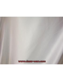Satin Polyester Lycra Blanc