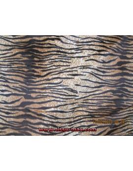 Velours de Coton Imprimé  Tigre