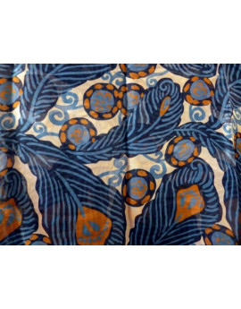 Mousseline de Soie Imprimée A017