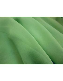 Mousseline Gaufrée Vert d'eau