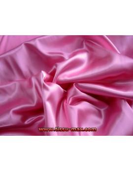 Tissu Satin Elastique Rose 002