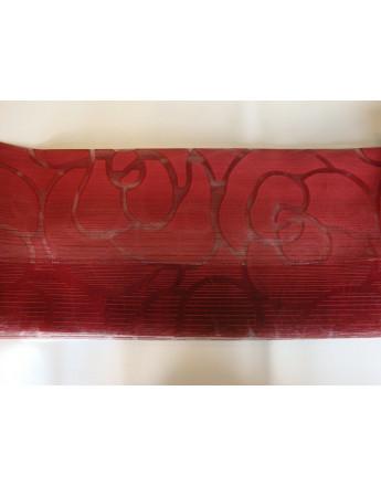 Tissu Ameublement Manta Bordeaux