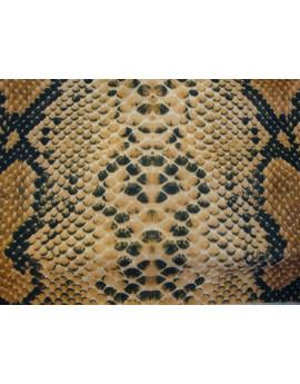 Tissu Peau Bête Anaconda 01
