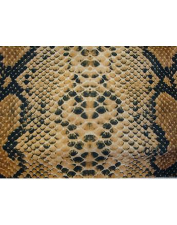 Tissu Peau Bête Anaconda