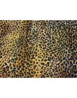 Tissu Peau Bête Leopardo